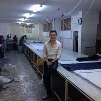 Photo taken at imaj tekstil by Emre K. on 9/23/2014