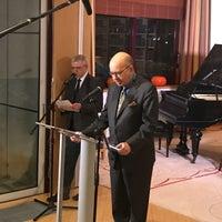 Photo taken at Ambasada Republiki Francuskiej by Fro on 2/2/2017
