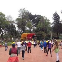 Photo taken at Parque San Cristobal by Soy Fan de Bogotá on 10/13/2013