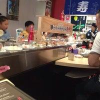 Photo taken at Sushi Factory by Mayra U. on 8/23/2014