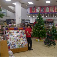 Photo taken at Gramedia by Debby H. on 12/3/2012