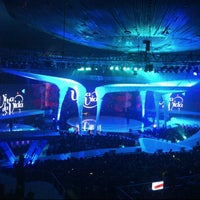 Photo taken at Jakarta Convention Center (JCC) by Debby H. on 3/17/2013