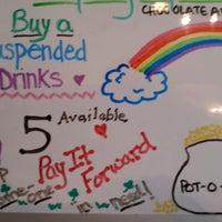 Photo taken at Latte Da Coffeehouse & Wine Bar by Noland H. on 3/27/2014