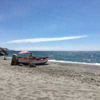 Photo taken at El Salón Beach by Joris G. on 4/25/2016