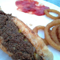 Photo taken at Rudys Hot Dogs by J.R. A. on 4/18/2014
