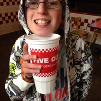 Photo taken at Five Guys by Paul M. on 11/15/2013