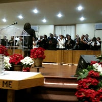Photo taken at New Hope Baptist Church by Arthur W. on 12/7/2014