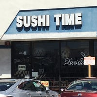Photo taken at Sushi Time by Barry F. on 3/17/2018