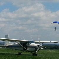 Photo taken at Maytown Sport Parachute Club by Jake W. on 6/29/2013