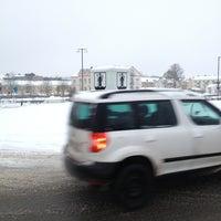Photo taken at Norrtullsrondellen by Sebastian L. on 12/24/2012