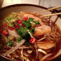Photo taken at wagamama by Sebastian L. on 3/3/2013