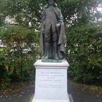 Photo taken at William Bradford Statue by Matt Y. on 10/4/2012