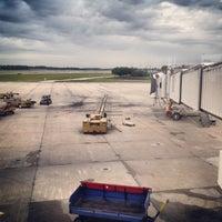 Photo taken at Gate 129 by Matt Y. on 5/20/2013