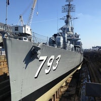 Photo taken at USS Cassin Young by Matt Y. on 10/5/2012