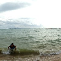 Photo taken at Pattaya Beach Front by Gina on 7/12/2014