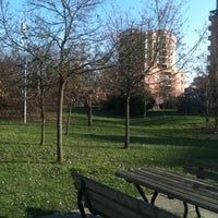 Photo taken at Parchetto Via La Pira by Giulia D. on 2/24/2014