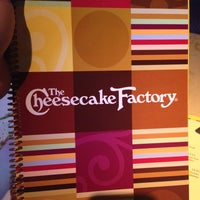 Photo taken at The Cheesecake Factory by Denny P. on 5/3/2013
