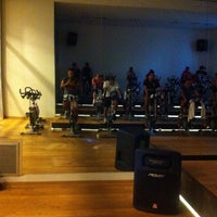 Photo taken at cycle studio hillside by hakan e. on 8/21/2014