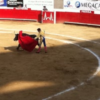 Foto tomada en Plaza de Toros Nuevo Progreso por Diego B. el 3/4/2012