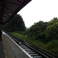 Photo taken at Epsom Railway Station (EPS) by Angela K. on 7/20/2012