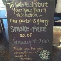 Photo taken at Starbucks by Petra W. on 1/3/2013