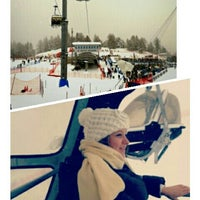 Photo taken at Ice Arena Sankt Moritz by Nevin T. on 2/3/2014