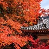 Photo taken at 長安寺 by Norio W. on 12/29/2013
