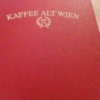 Photo taken at Kaffee Alt Wien by Muge M. on 3/3/2017