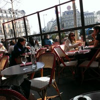 Photo taken at Café Montparnasse by Julien G. on 3/3/2013