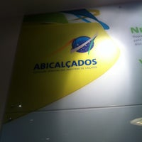 Photo taken at Abicalçados by CRISTIAN S. on 7/29/2014