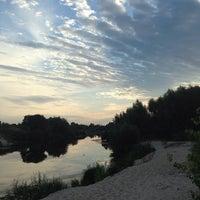 Photo taken at Дикий Пляж На Осокорках by Olexii V. on 7/16/2014