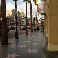 Photo taken at Hollywood Walk of Fame by Timon on 5/7/2013