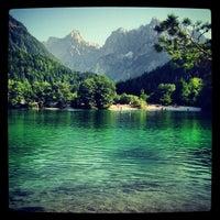 Photo taken at Jezero Jasna by Marko R. on 8/8/2013