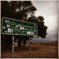 Photo taken at Extraterrestrial Highway by Ryan S. on 4/25/2015