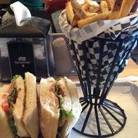 Photo taken at Bucu Burger Bar & Bakery by Ana M. on 10/1/2012