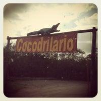 """Photo taken at Cocodrilario """"El Cora"""" by Don R. on 8/18/2013"""