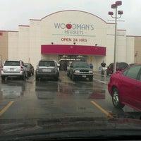 Photo taken at Woodman's Food Market by BARB on 10/3/2012