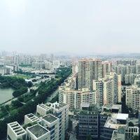 Photo taken at Four Points by Sheraton Guangzhou, Dongpu by Kefah F. on 8/3/2017