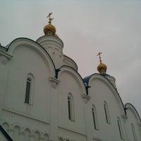 Photo taken at Церковь Спаса Преображения by kinorezhisser on 4/6/2014