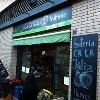Photo taken at Fruteria Ca La Julia by Monica R. on 4/9/2014