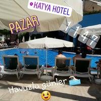 Photo taken at Katya Hotel Swiming Pool by MzFfR G. on 4/22/2018