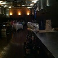 Photo taken at Press* food & wine by Jacqui C. on 3/16/2013