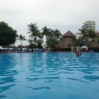 Photo taken at Meliá Vacation Club Puerto Vallarta by Carlos P. on 9/7/2013