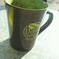Photo taken at Daily Dose Cafe and Espresso by Katie M. on 10/26/2013