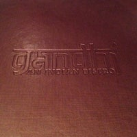 Photo taken at Gandhi India's Cuisine by Yoshi H. on 9/25/2012