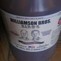 Photo taken at Williamson Brothers Bar-B-Q by Joseph M. on 1/15/2013