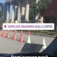 Photo taken at Kompleks Mahkamah Kuala Lumpur (Courts Complex) by Reko A. on 2/20/2017