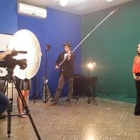 Photo taken at Sala de Televisión - Filosofía UNA by Mariel O. on 8/23/2014