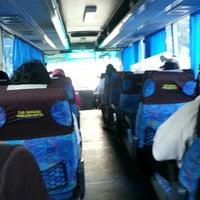 Photo taken at Bus Damri by Marietta U. on 7/11/2013