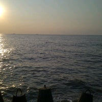 Photo taken at Pantai tanjung kait by jilan c. on 8/19/2013